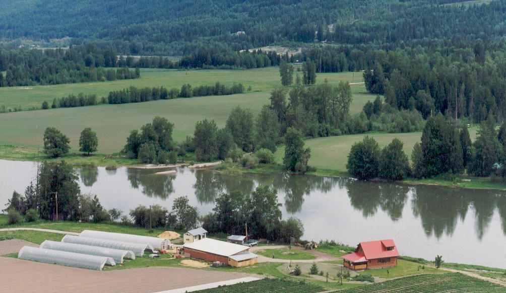 Aerial Farm Photo